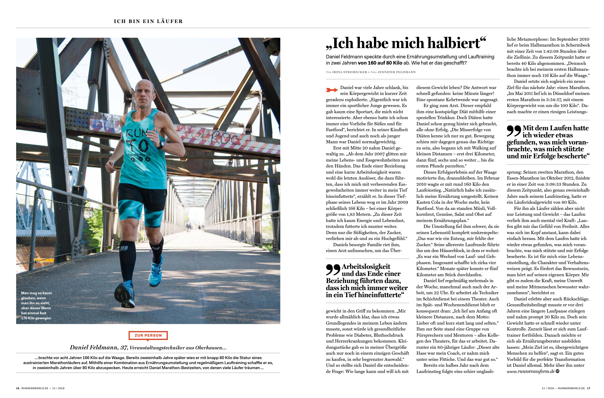 RUNNERs WORLD Magazin